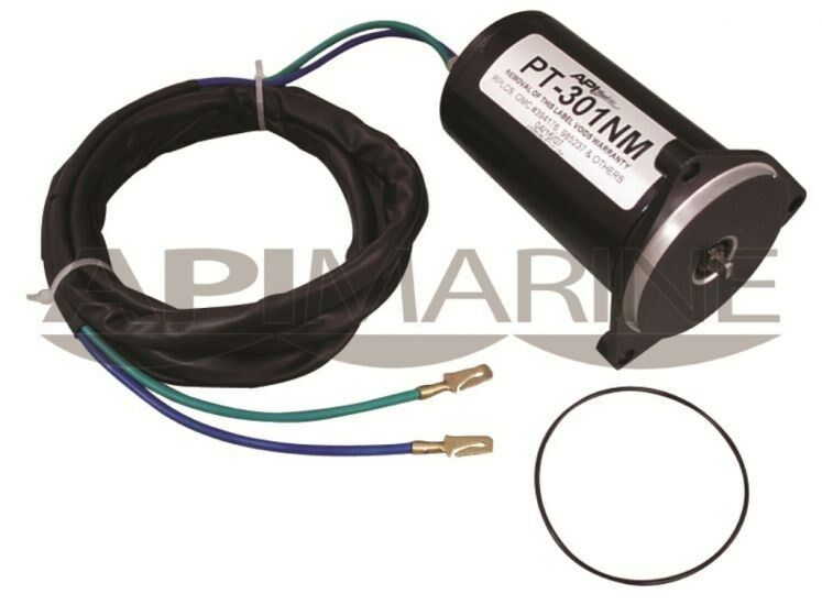 Api marine tilt trim motor replaces johnson evinrude and for Omc cobra tilt trim motor