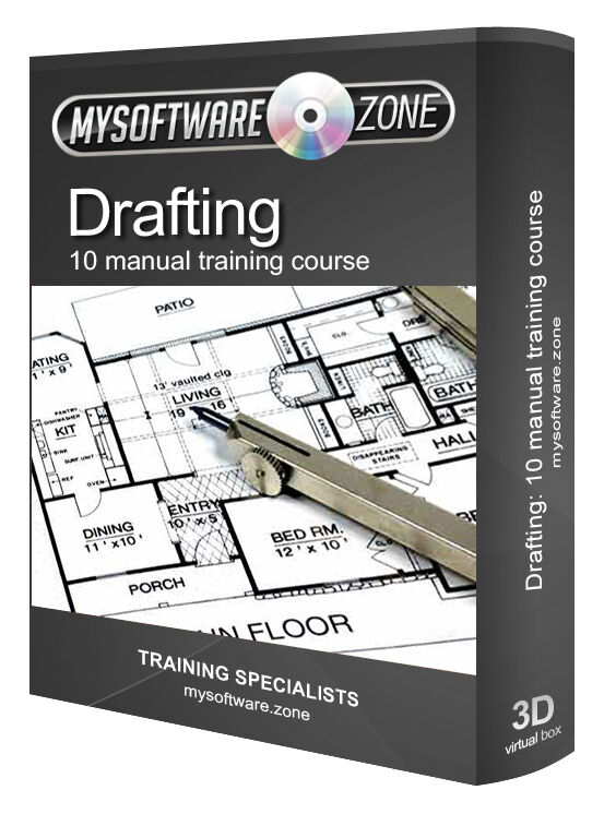 learn drafting 10 manual training course cd drawing