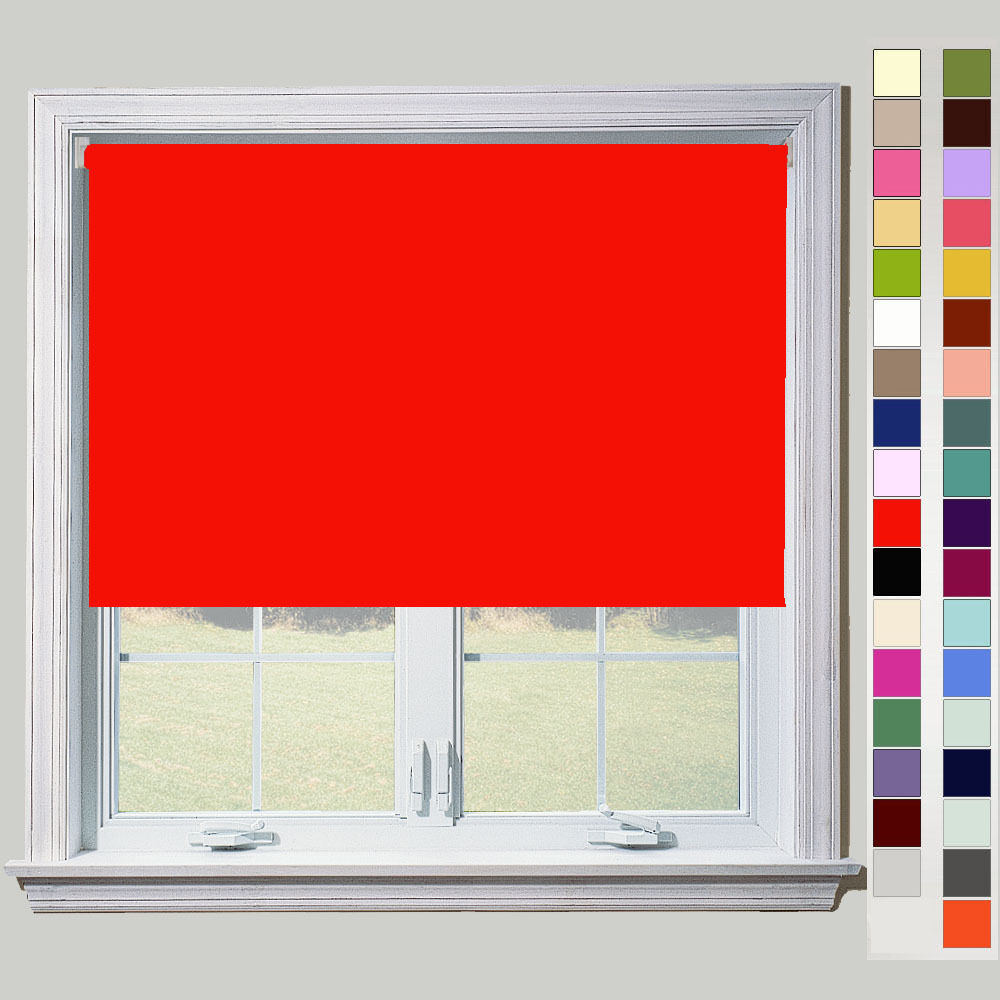 Quality Thermal Blackout Roller Blinds Metal Fittings
