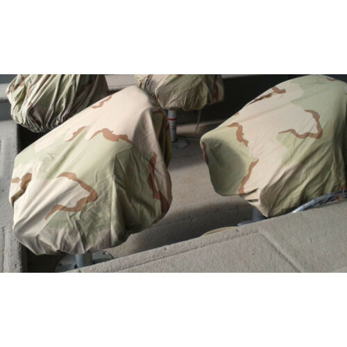 lot-of-two-pedestal-boat-seat-covers-tractor-seat-duck-blind-desert-camo-cotton