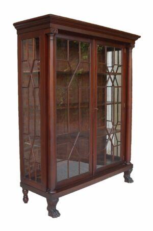 Antique Breakfront Cabinet