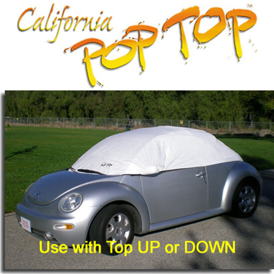 Gray Vw Beetle >> VW Beetle PopTop Sun Shade Interior Cockpit Car Cover | eBay