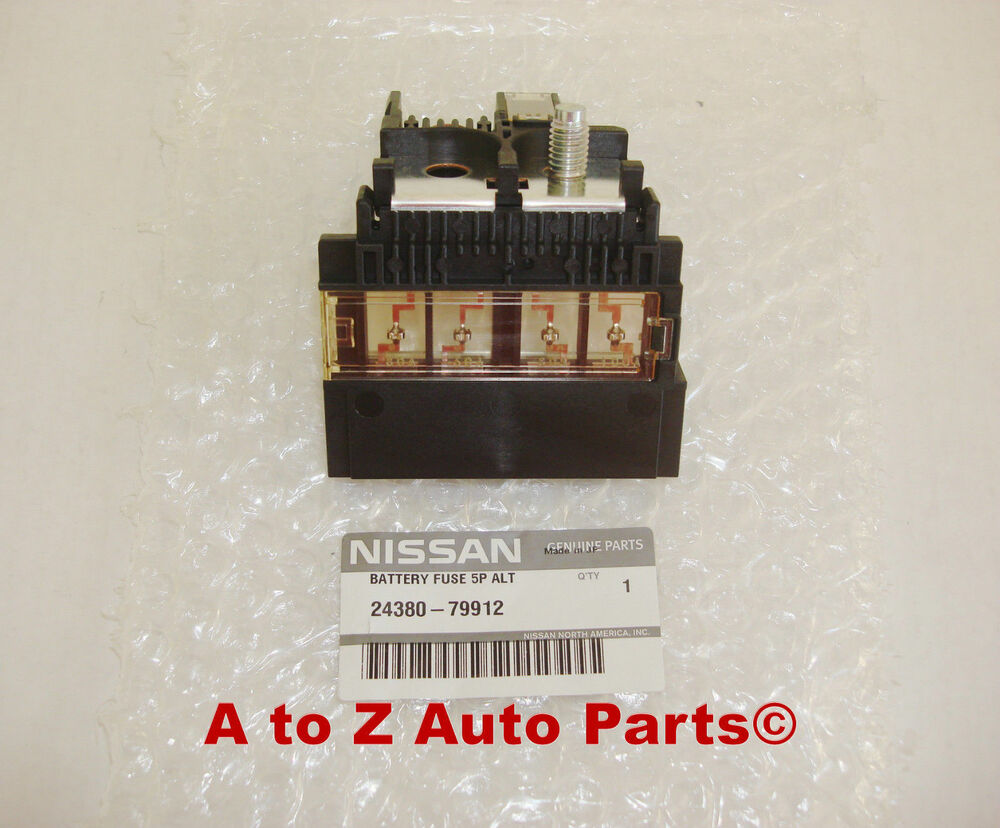 vw seat battery fuse box terminal on top of 1j0 937 550 2002-06 nissan altima, 2003-07 murano,2004-08 maxima fuse block holder link,oem | ebay