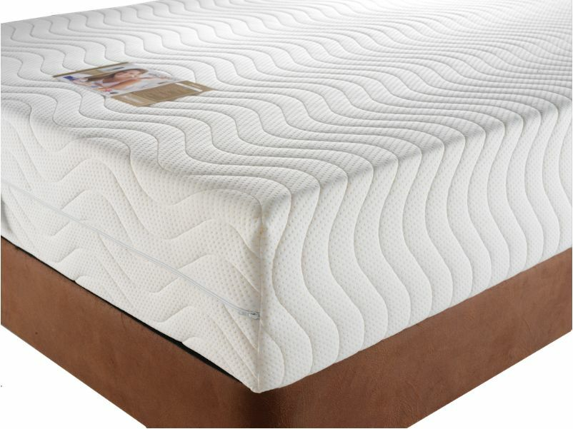 Premium memory foam mattress all bed sizes available single double king super ebay Memory foam king size mattress