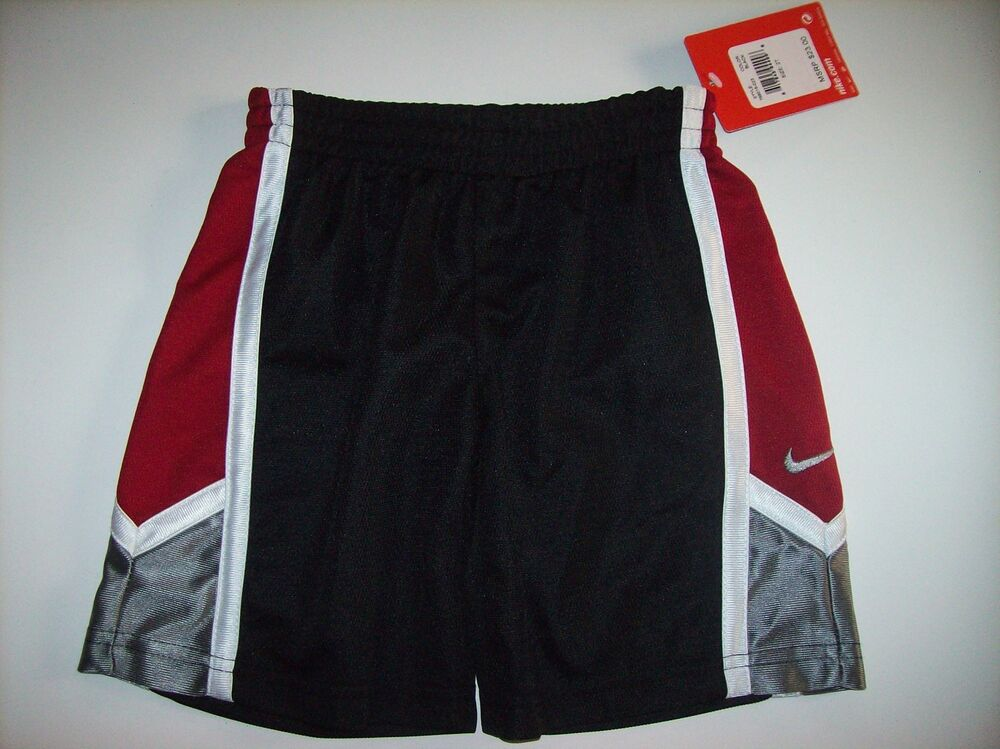 Nike Shorts Boys Sz 2T 3T 4Toddler Jersey Dri-Fit Sports ...