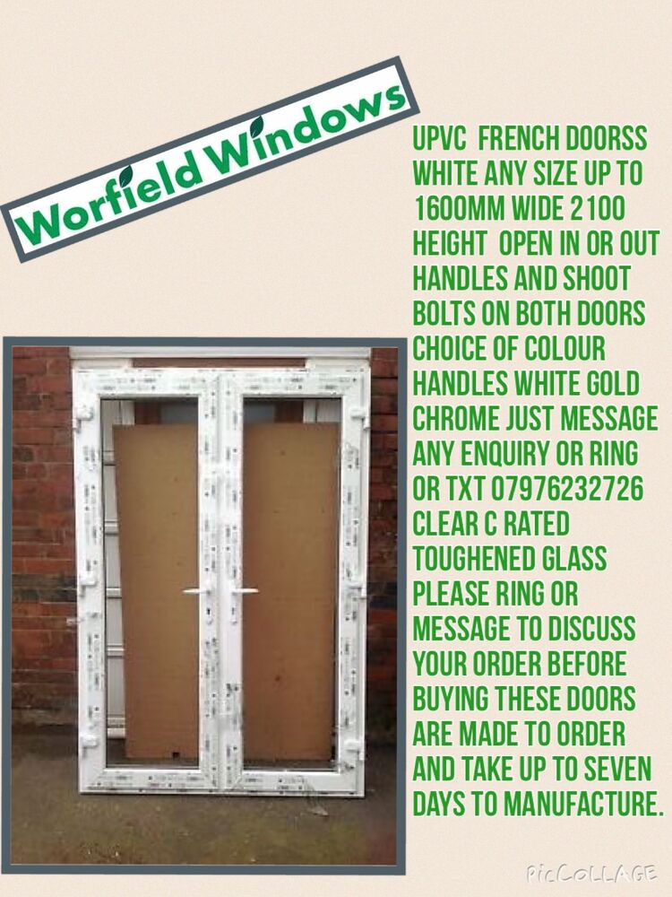 Upvc French Doors Ebay