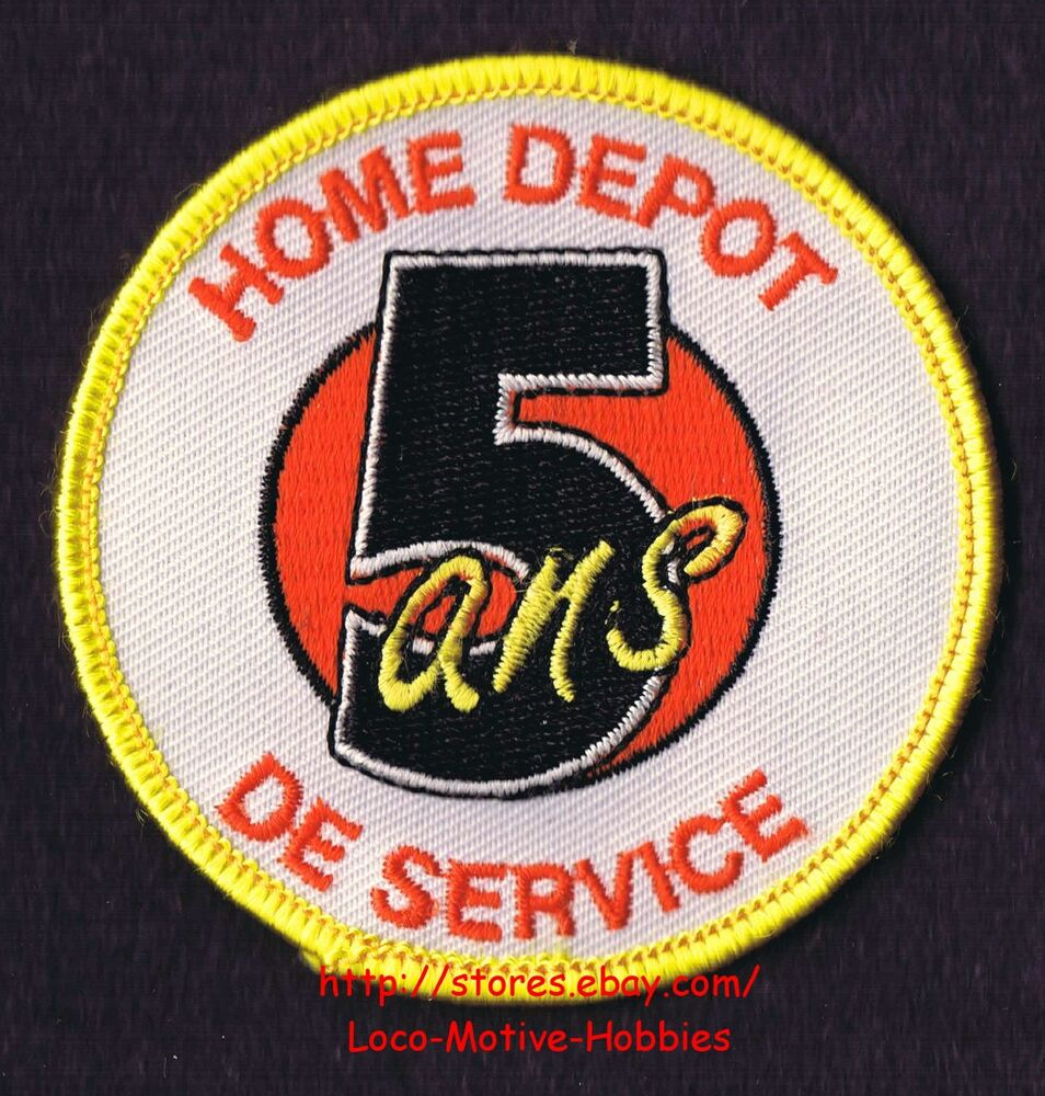 Lmh Patch Badge Home Depot 5 Ans De Service Years Award