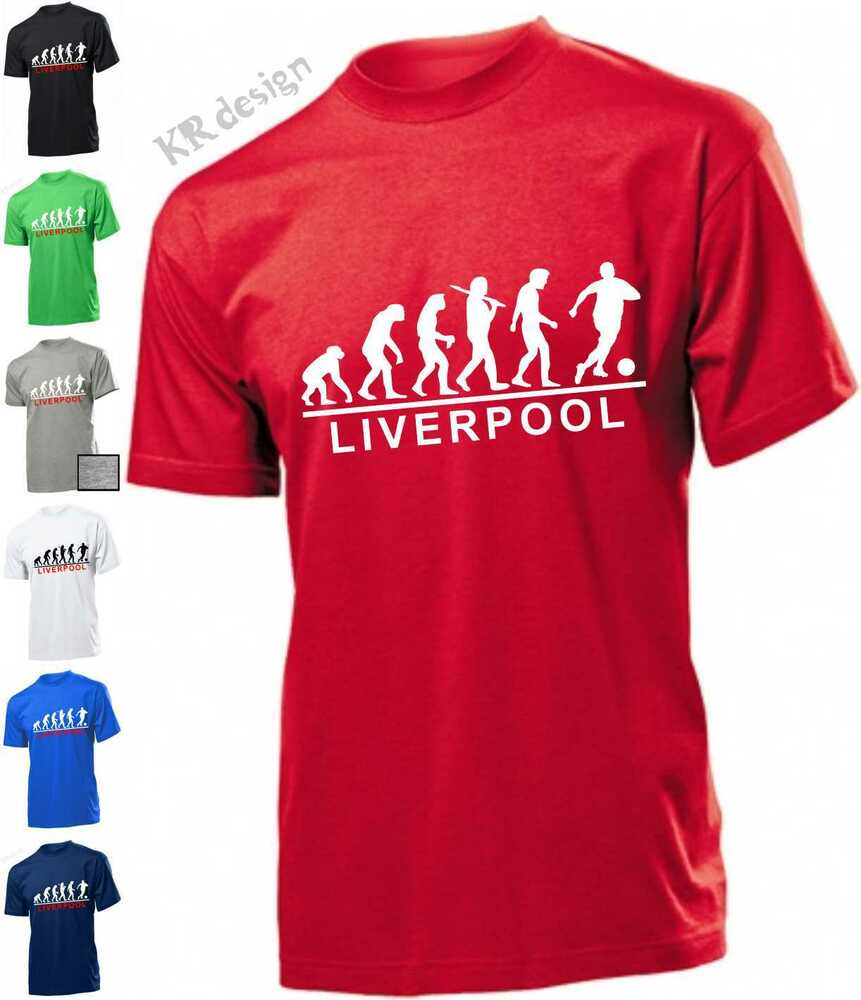 Evolution LIVERPOOL T-shirt fc SPORTS Funny Liver T shirt ...
