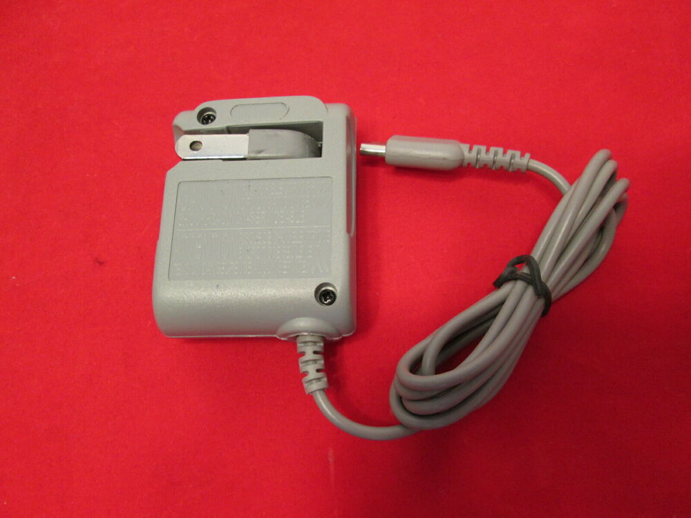 ds lite ac wall charger for nintendo ds lite power mint 3790 ebay. Black Bedroom Furniture Sets. Home Design Ideas