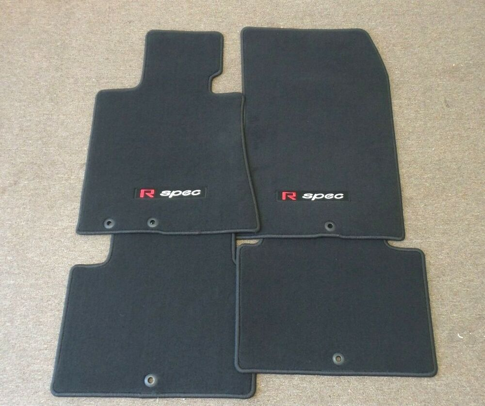 2011 2012 2013 For Hyundai Genesis R Spec Carpeted Floor Mats Front Amp Rear Oem Ebay