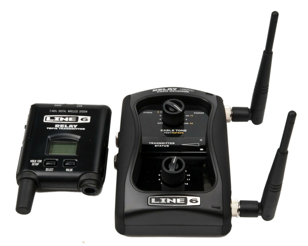 new line 6 relay g50 guitar wireless transmitter pedal style receiver system ebay. Black Bedroom Furniture Sets. Home Design Ideas