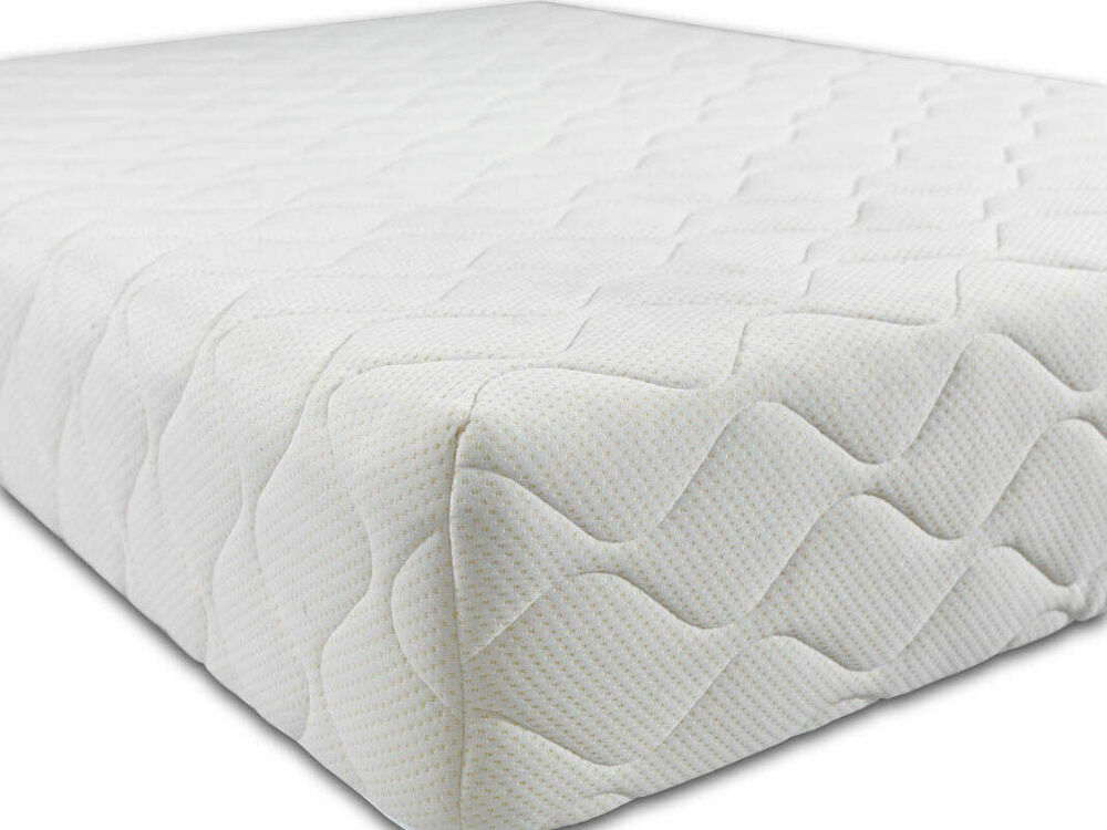 Brand new medium 8 inch reflex memory all foam mattress ebay Memory foam king size mattress