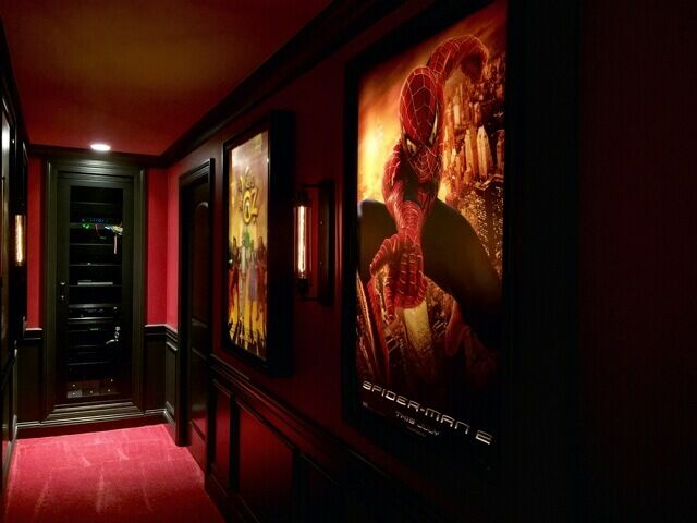 Movie Poster Light box Display Frame Cinema Light Up Home Theater Sign ...