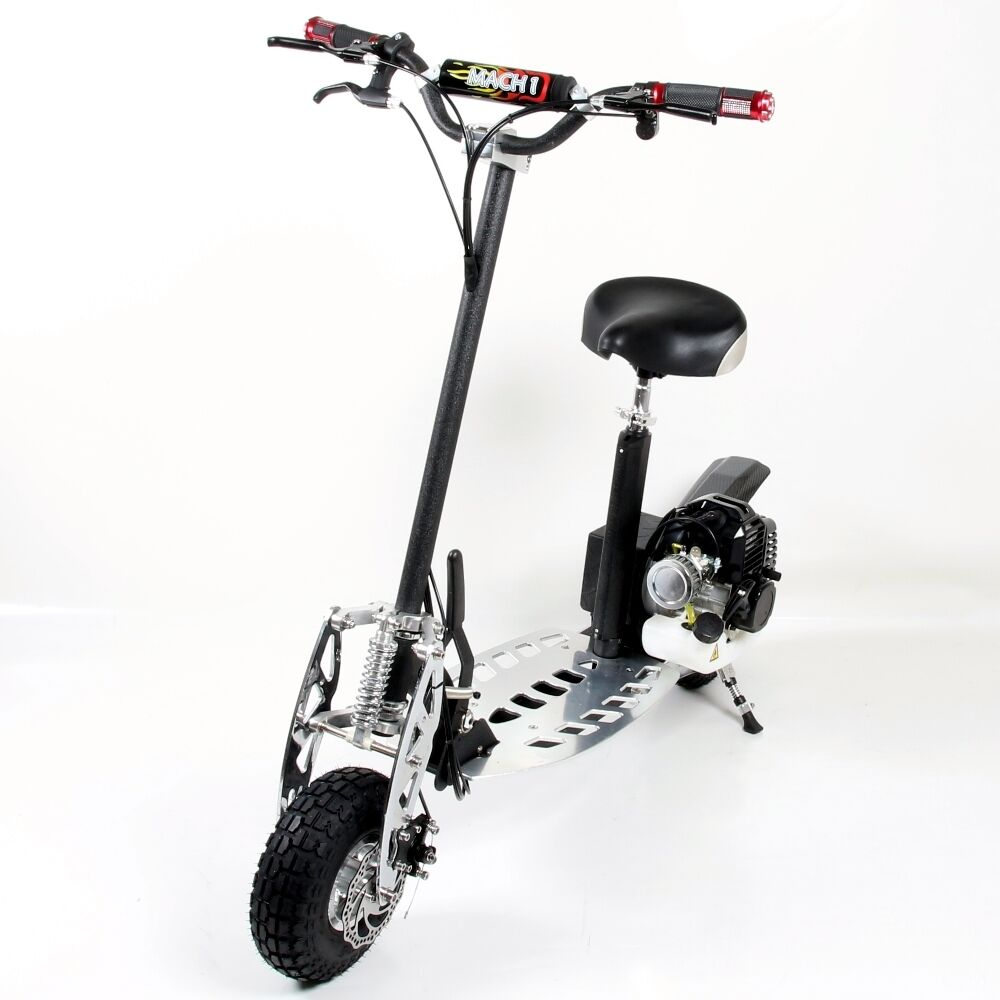 49cc mach 1 scooter a benzina modello 4 mini moto ped gas. Black Bedroom Furniture Sets. Home Design Ideas