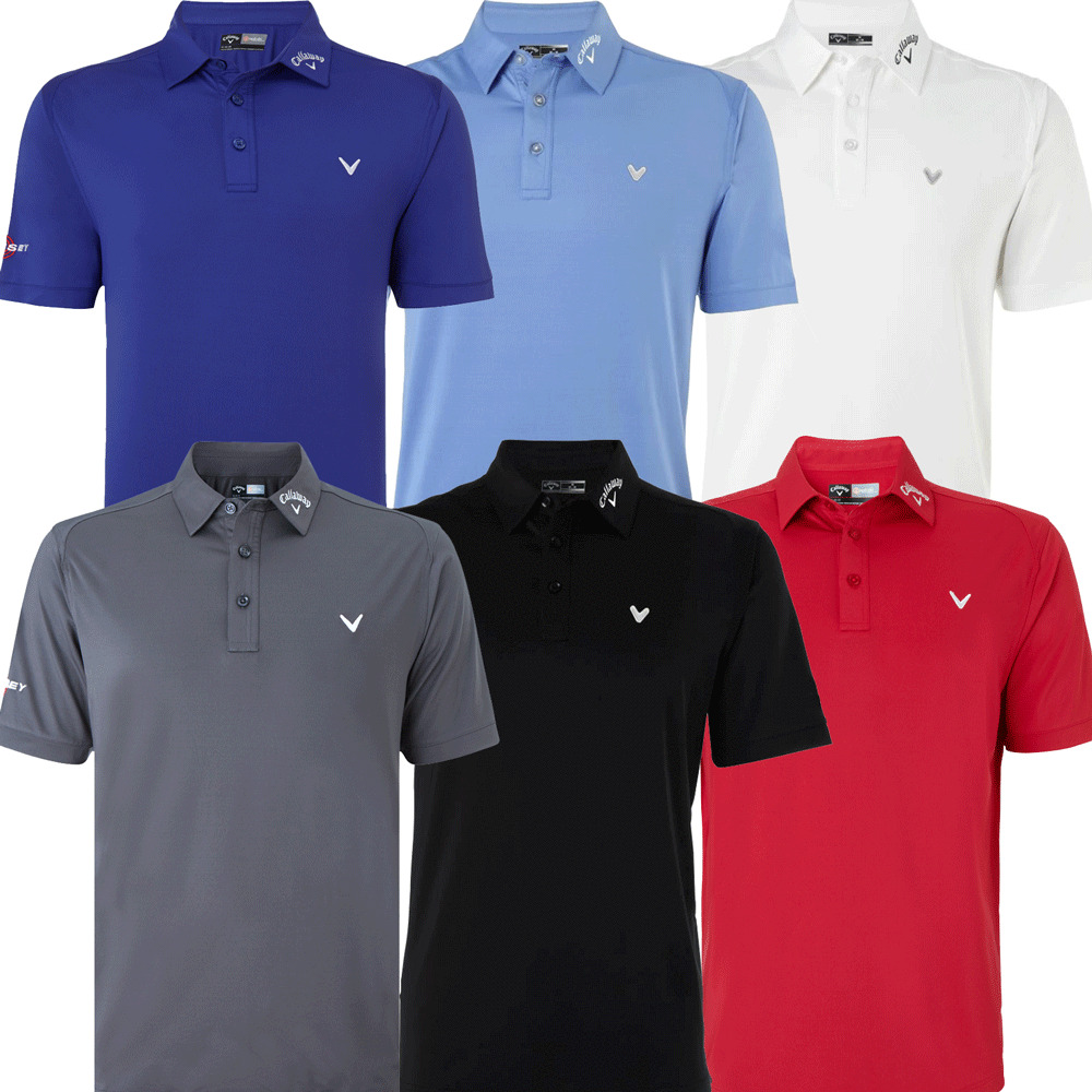 50 off callaway odyssey tour authentic golf polo for Polo shirts tall sizes