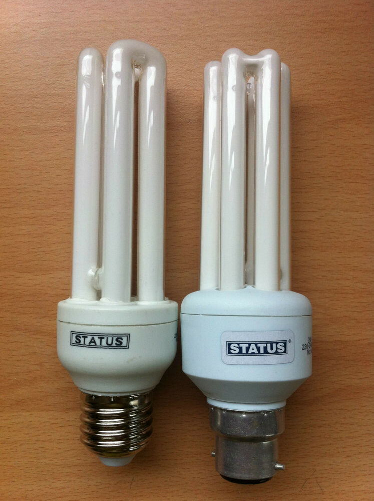 15w 20w 26w Stick Cfl Light Bulb Lamp Energy Saver Bc Es 2 4 Or 10 Bulbs Cheap Ebay