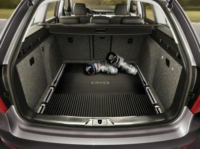 Skoda Superb Pa Rubber Boot Load Liner With Raised Boot