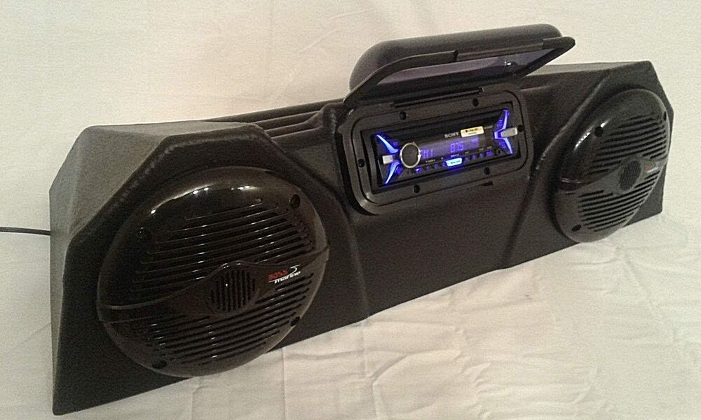 Atv Stereo Radio Complete Fully Assembled Waterproof Loud