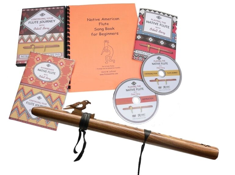 Native American Style Flute Beginner 39 S Kit Key Of A Walnut Or Madrone Hardwood Ebay