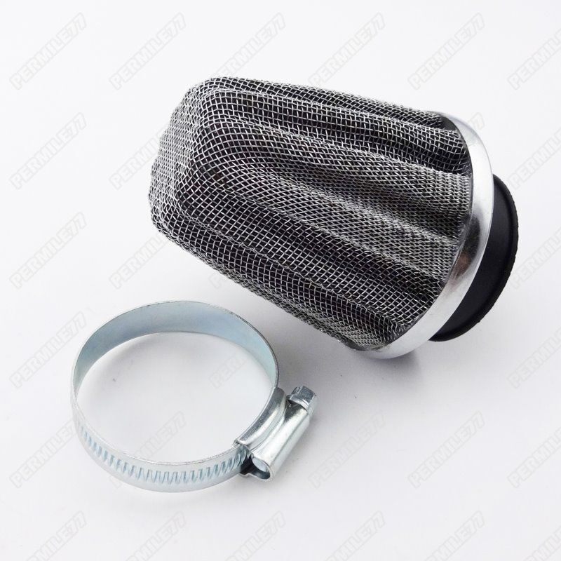 Moped Air Filter : Performance mm air filter pod for gy cc moped