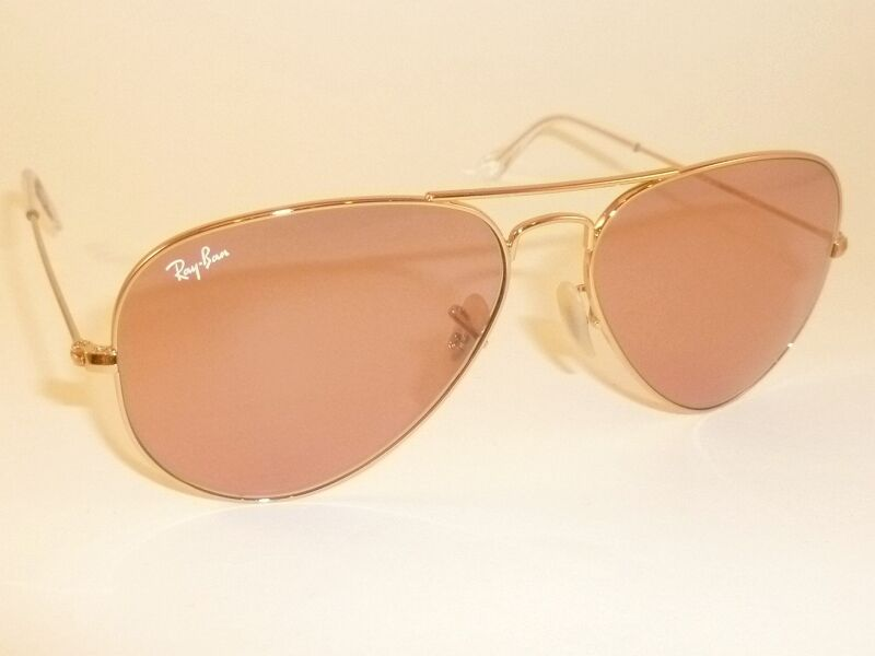 Rb3025 Aviator Sunglasses Gold Frame Crystal Gradient Bl : New RAY BAN Aviator Sunglasses Gold Frame RB 3025 001/4B ...