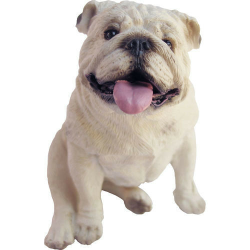 english bulldog figurine sandicast dog figurine sculpture bulldog white ebay 2705