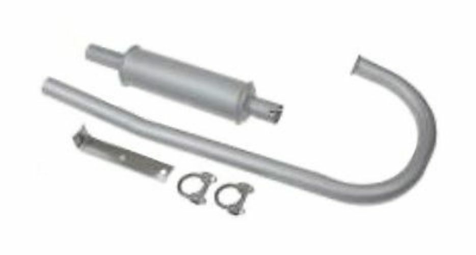 Ford Tractor Mufflers : Fd m vertical muffler and pipe for ford new holland