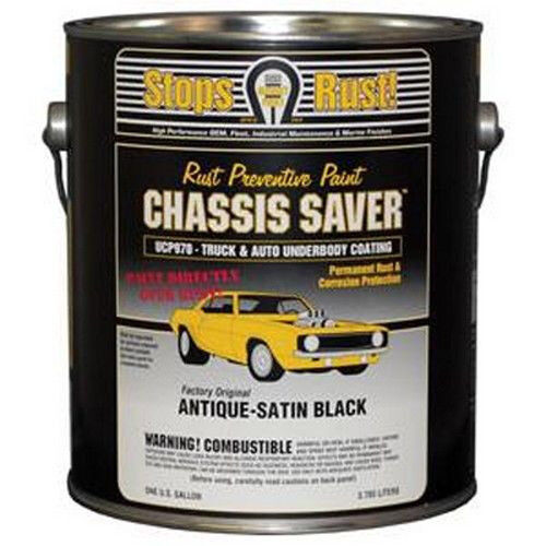 automotive frame paint coating chassis saver antique satin