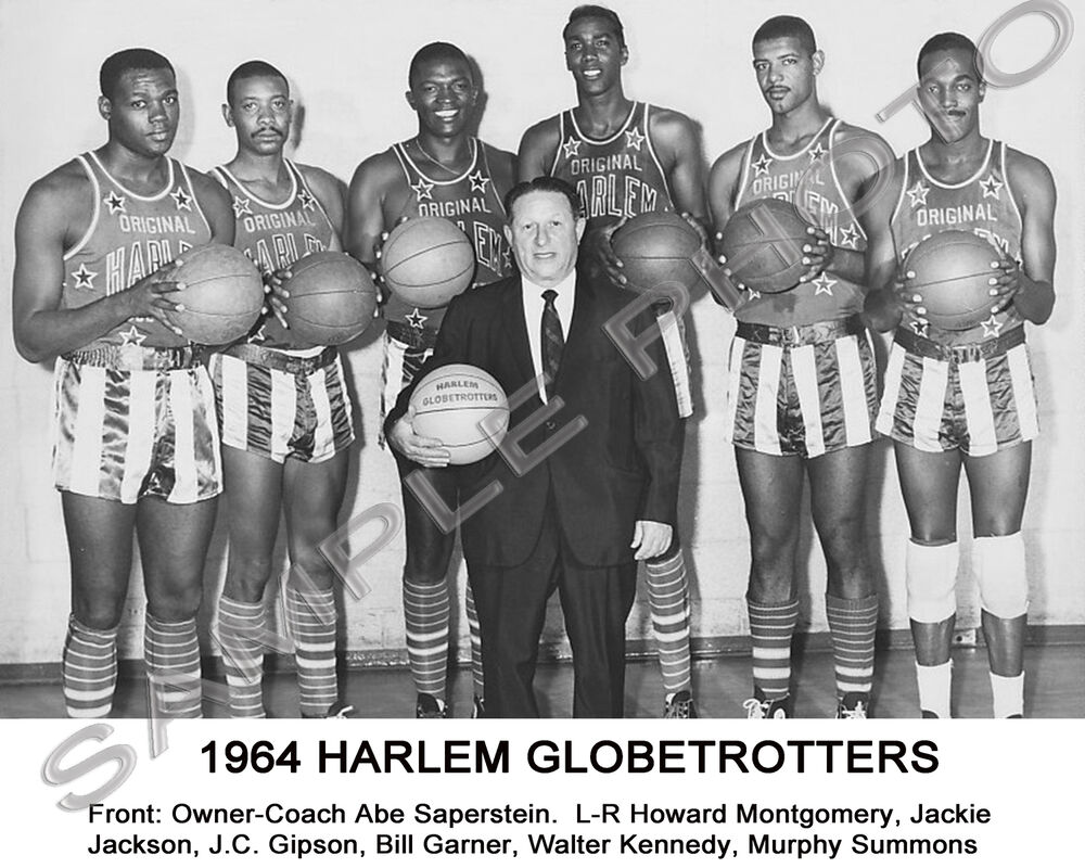 1964 HARLEM GLOBETROTTERS 8X10 TEAM PHOTO | eBay Fergie Jenkins