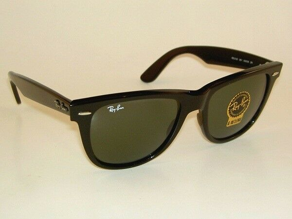 Large Frame Wayfarer Glasses : New RAY BAN Original WAYFARER Sunglasses RB 2140 901 Black ...