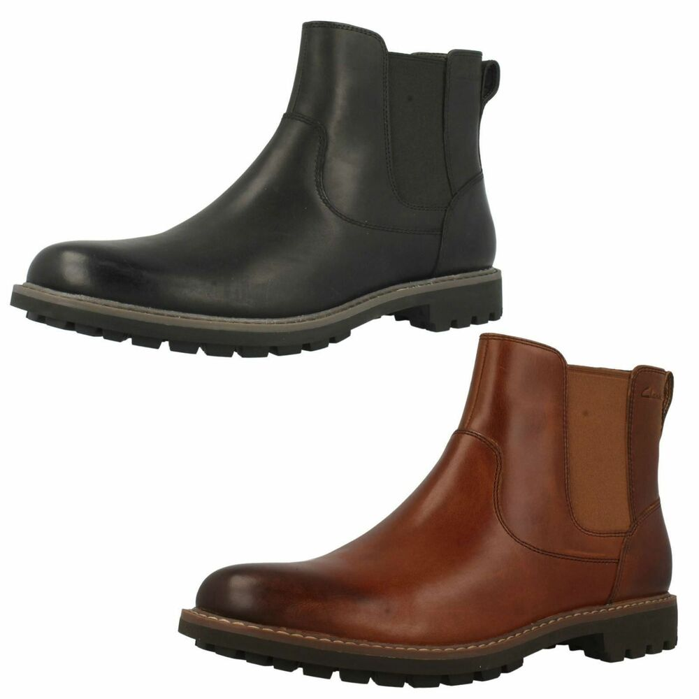 clarks montacute top mens leather boots ebay