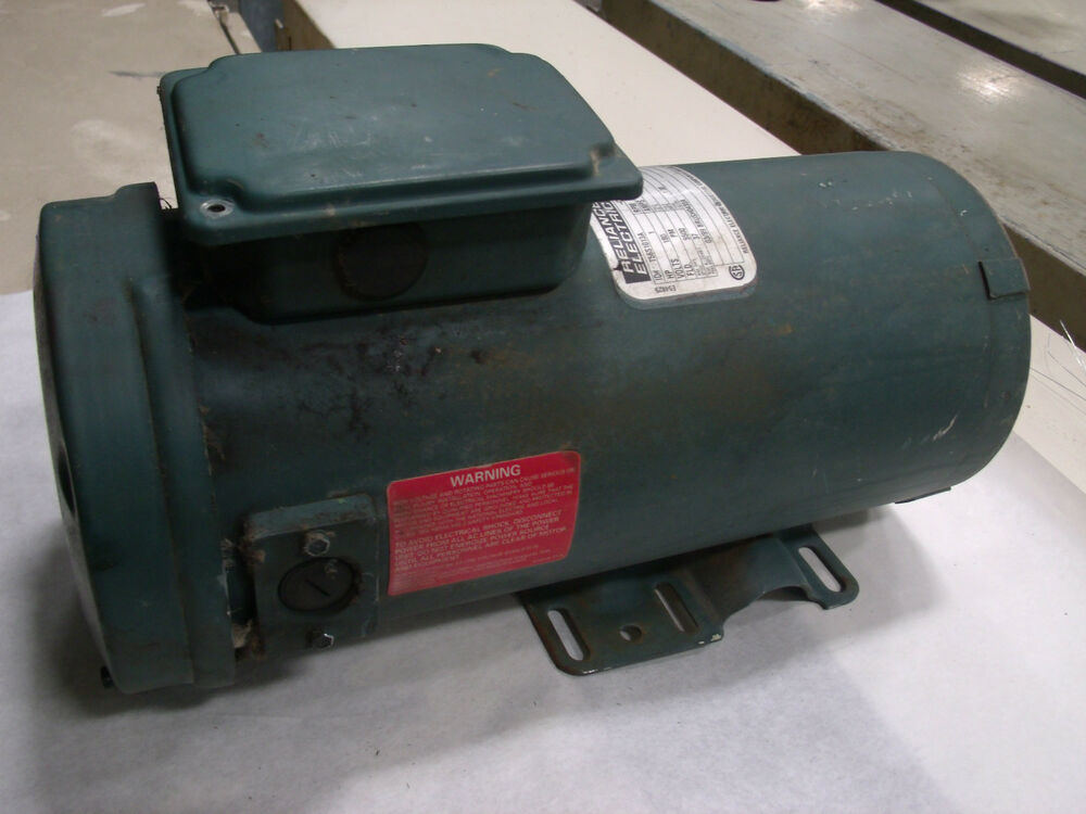 Reliance electric 1hp dc motor model t56s1013a lot 2 ebay for Electric motor price list