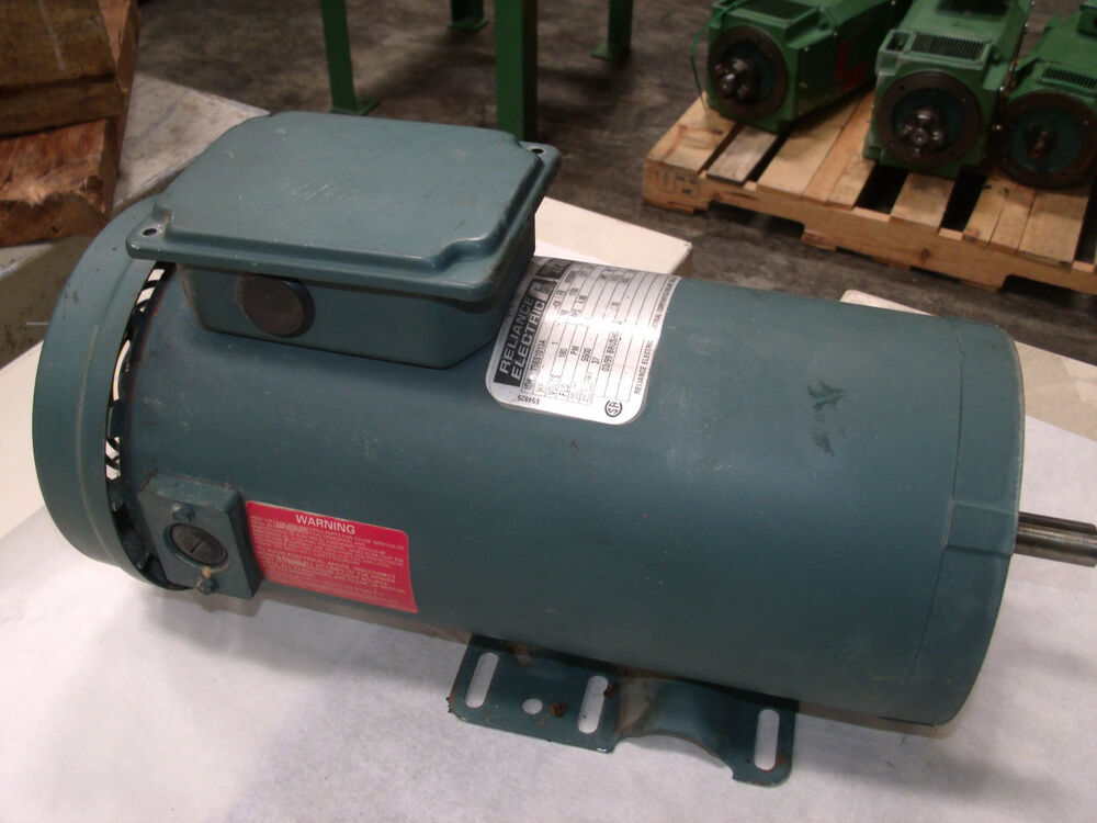 Reliance Electric 1hp Dc Motor Model T56s1013a Lot 4 Ebay