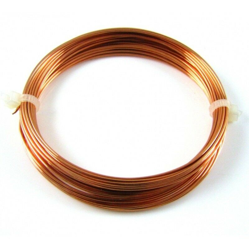 Solid Copper Wire Ampacity : Ground wire awg gauge solid bare copper  ebay