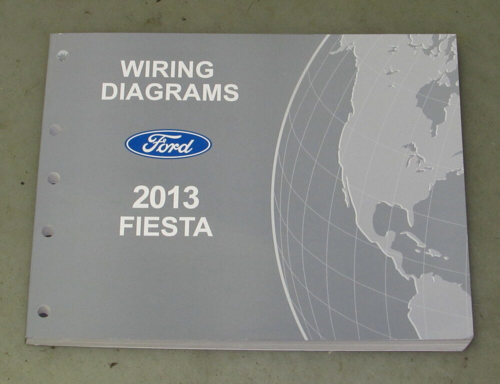 2013 Ford Fiesta Service Wiring Diagram Manual