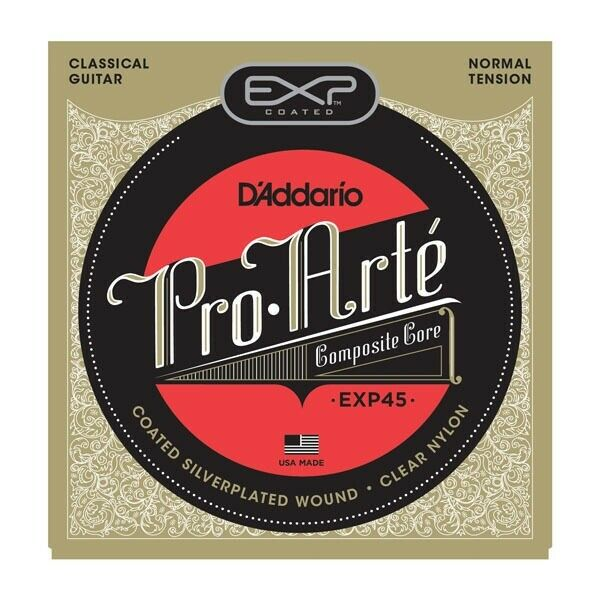 Addario EXP45 Coated Classical Guitar Strings Normal Tension | eBay