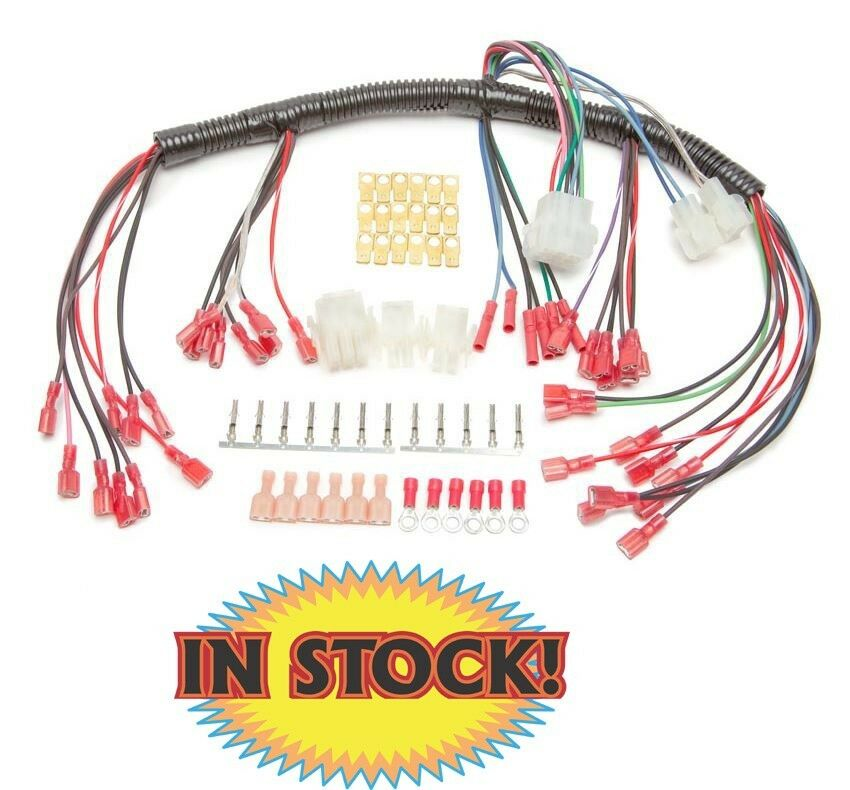 painless universal wiring harness for electric speedometer 30302 ebay