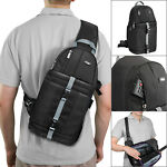 Camera Sling Backpack Bag Case for DSLR Canon Nikon Sony Fuji by Altura Photo®
