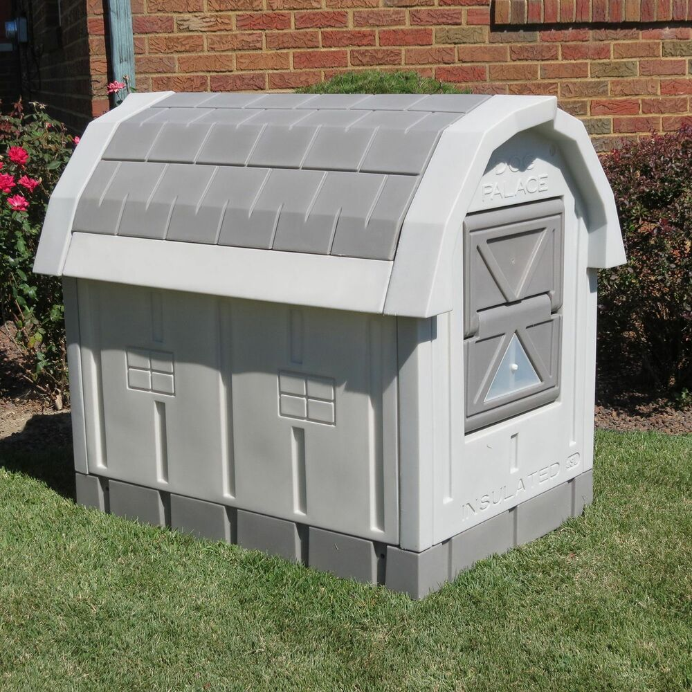 Dog houses deals on 1001 blocks for Large insulated dog house