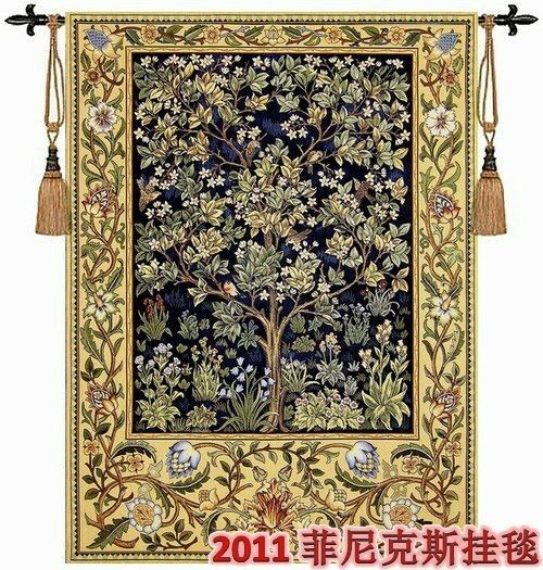 Beautiful Large Tree Of Life Woven Made Wall Hanging Fine