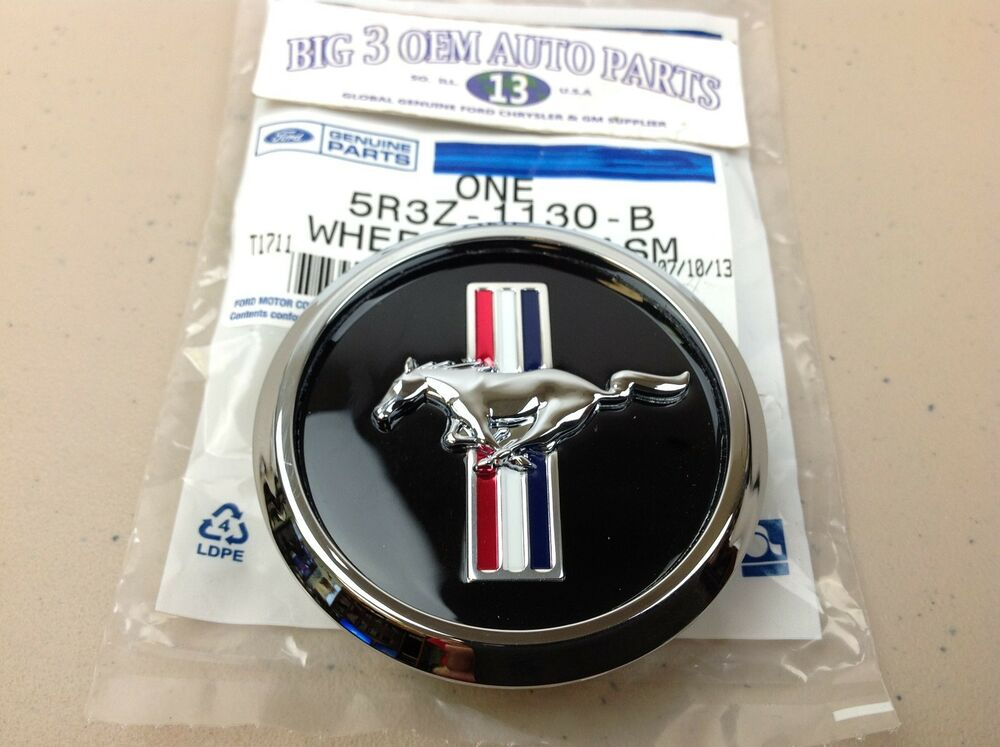 Ford Mustang 18 Quot Wheel Chrome Center Hub Cap With Mustang