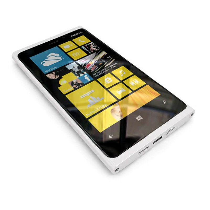 new nokia lumia 920 32gb white unlocked windows phone 4g. Black Bedroom Furniture Sets. Home Design Ideas