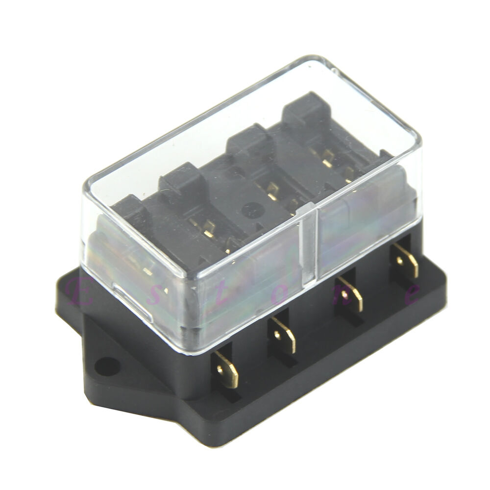 New way car vehicle circuit blade fuse box holder