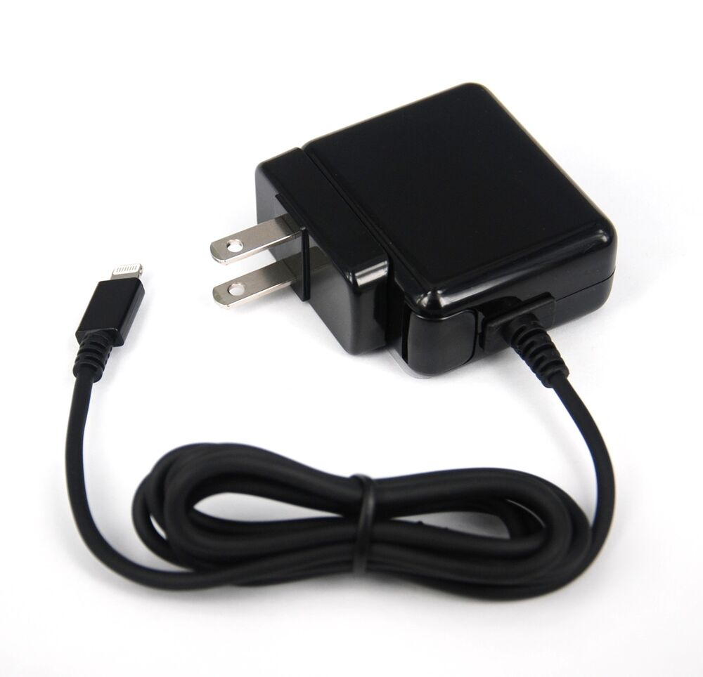 12W Fast AC Adapter Wall Charger BLACK 4 iPad Air 2 mini 3 iPhone 6 Plus 5s 5c 5 | eBay