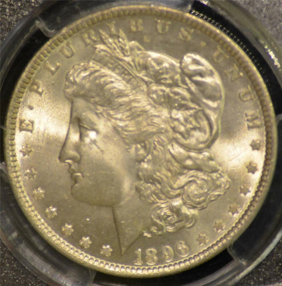 1896 Pcgs Certified Ms65 Morgan Silver Dollar Ebay