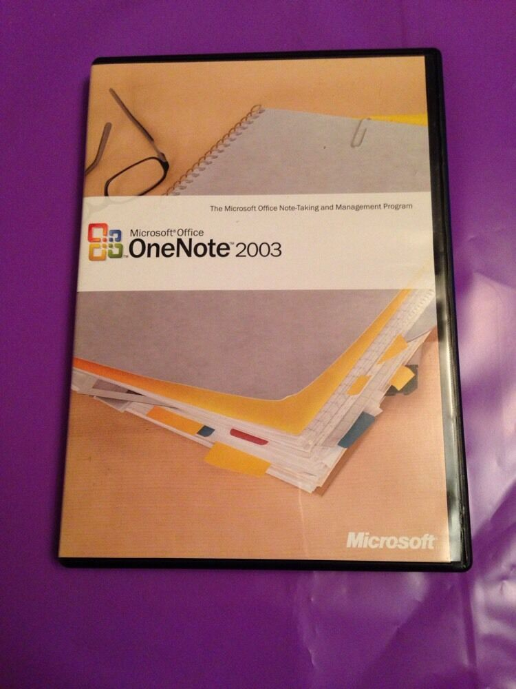 microsoft office one note 2003 windows genuine retail. Black Bedroom Furniture Sets. Home Design Ideas