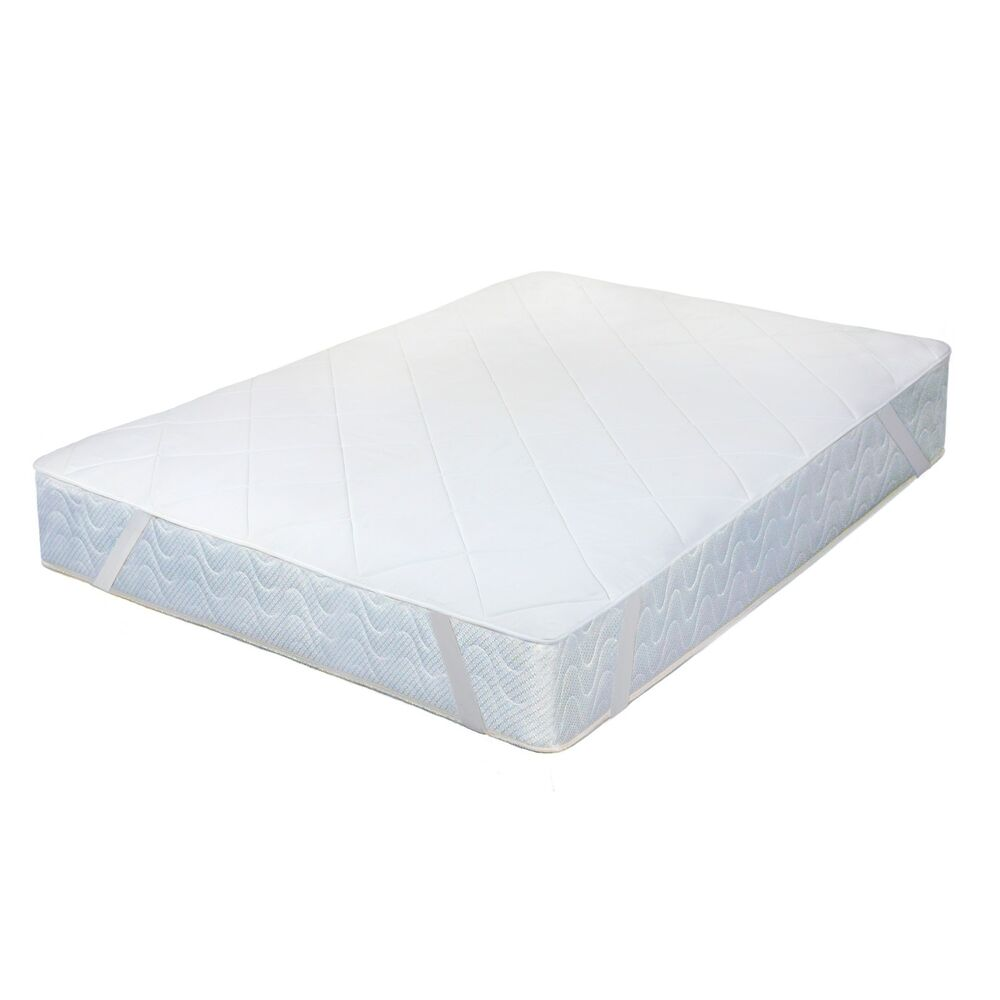 memory foam mattress pad quilted soft and comfort easy set up ebay. Black Bedroom Furniture Sets. Home Design Ideas