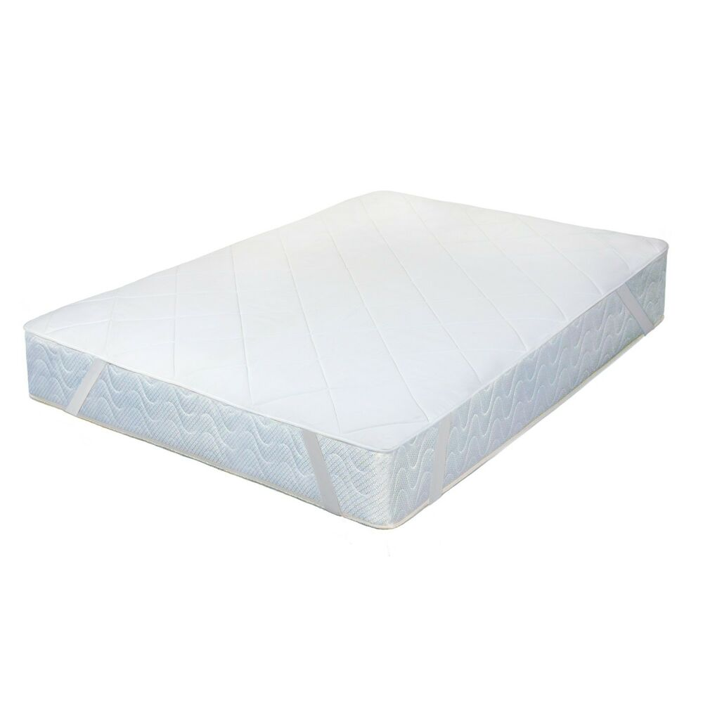 Memory foam mattress pad quilted soft and comfort easy set up ebay Where to buy mattress foam