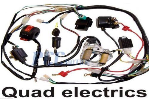 110cc quad wiring harness 110cc quad wiring schematic
