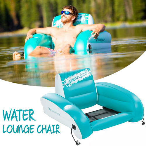 Inflatable Kids Birthday Chair: SEVYLOR COLEMAN WATER LOUNGE CHAIR INFLATABLE BOAT POOL
